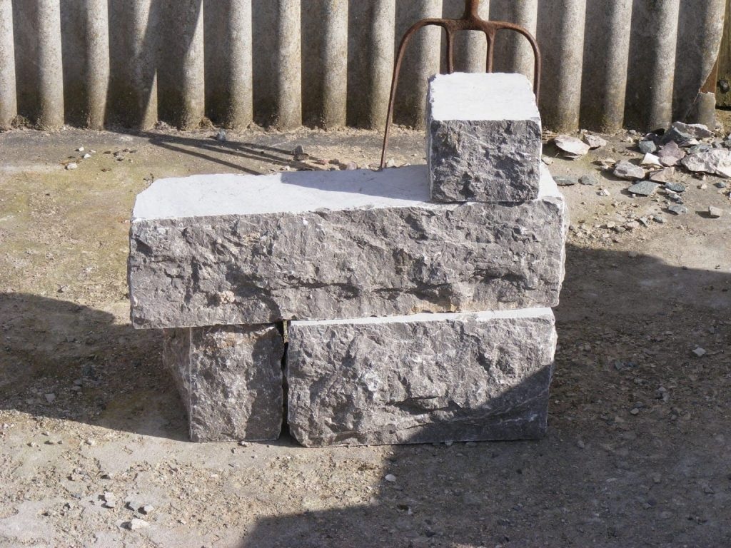 Sawn cut dressed grey limestone for sale Cheshire and north wales